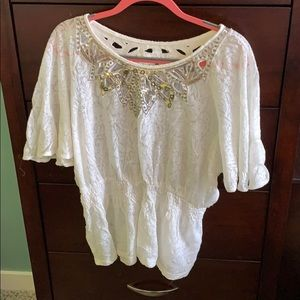 Miss me Brand lace top